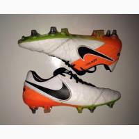 РОЗПРОДАЖ!!! 41-42 розм Nike Tiempo ПРОФИ футбольні бутси копочки не Adidas сороконожки