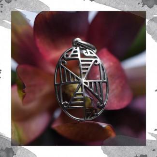 Срібний кулон оберег «Життя»