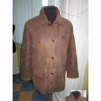 Большая утепленная кожаная мужская куртка MILESTONE. Германия. Лот 872
