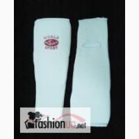 Защита ног для карате эластичная с голеностопом