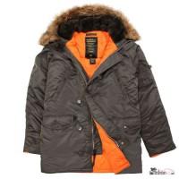 Супер тёплые куртки Аляска от Американской фирмы Alpha Industries, USA