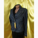 Женский джинсовый пиджак R.MARKS, размер L. Лот 402