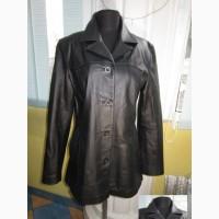 Оригинальная женская кожаная куртка ECHTES LEDER. Германия. Лот 869