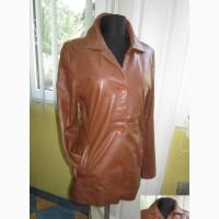 Фирменная женская кожаная куртка CABRINI. Италия. Лот 950