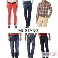 Мужские и женские джинсы Mustang