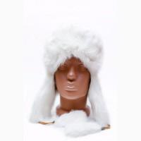 Продам шапку ушанку с кроликом