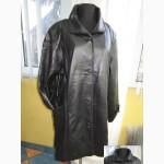 Оригинальная большая женская кожаная куртка ARITANO. Италия. Лот 326