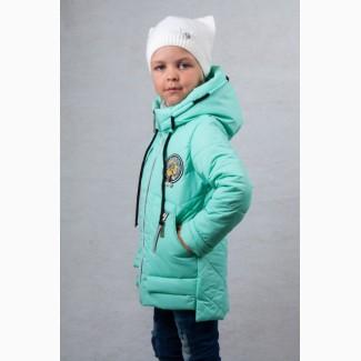 Демисезонная куртка для девочки Mint