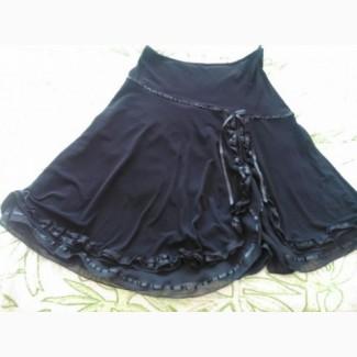 Юбка чёрная женская