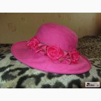 Льняная шляпка
