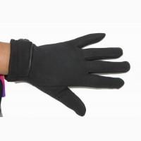 Женские стрейчевые перчатки на меху