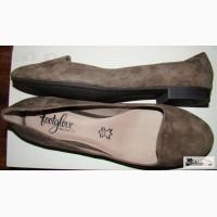 Туфли балетки женские замшевые FOOTGLOVE