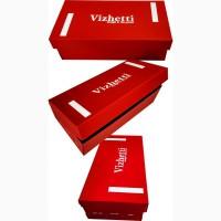 Коробка для обуви 300х150х100 красная