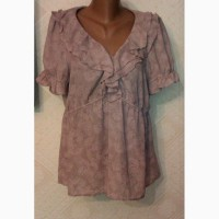 Шелковая новая блузка размер 52- 54. Производство Швеция (Стокгольм)