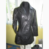 Оригинальная женская кожаная куртка – пиджак FRONT LINE. Швейцария. Лот 941