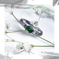 Срібне жіноче кільце «Закоханість»