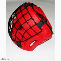 Шлем для контактных единоборств, забрало сталь, закрытый