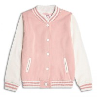 Куртка-бомбер для девочки 2-8 лет