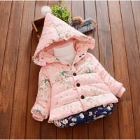 Куртка весна-осень для девочек розовая