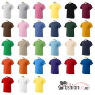 Футболки оптом, однотонные футболки 49грн