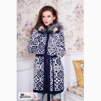 Женский кардиган с орнаментом в интернет магазине Moda Style