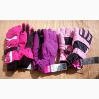 Лыжные термо перчатки девочке 8-12 лет Швейцария