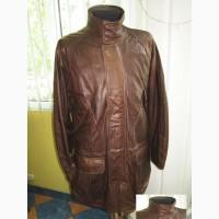 Тёплая кожаная мужская куртка Echtes Leder. Германия. Лот 634