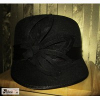Продам шляпку весна-осень. Чёрная. Новая
