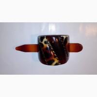 Разъемная заколка для хвоста или шиньона, размер 12, 5х5 см. Производство Франция