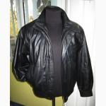 Оригинальная кожаная мужская куртка VIA CORTESА. Лот 300