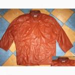 Оригинальная большая женская кожаная куртка LOTUS Fashion. Лот 429