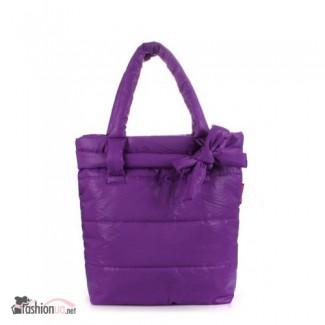 Продается дутая сумка POOLPARTY (pool-violet-bow)