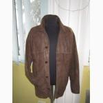 Большая лёгкая мужская кожаная куртка Montes. Испания. Лот 430