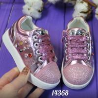 Кроссовки для девочки с камнями
