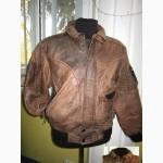 Стильная кожаная мужская куртка BERTO LUCCI. Италия. Лот 299