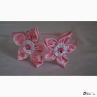Обруч ручной работы Розовый цветок