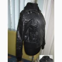 Тёплая женская кожаная куртка BLEND. Лот 887
