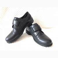 Продам туфли Ecco детские (мальчик), черные, размер 36