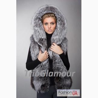Пошив шикарных меховых жилетов из чернобурки в Донецке! Воплощаем идеи по лучшим ценам
