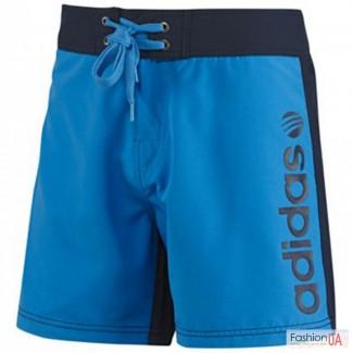 Мужские шорты, adidas (Black Blue)