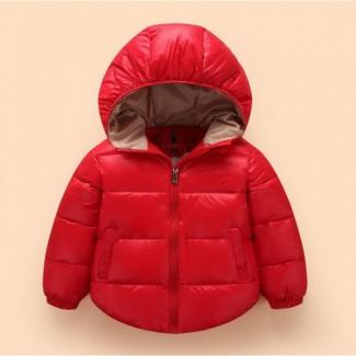 Куртка детская демисезонная красная