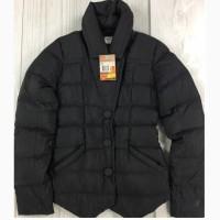 Женская куртка Nike чёрная, Пуховик оригинал XS, в идеальном состоянии