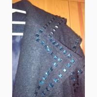 Стильное женское кашимировое пальто