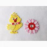 Набор нашивок с фетра для детской одежды ручной работы