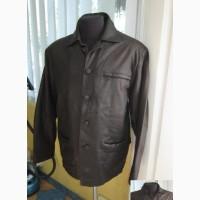 Большая кожаная мужская куртка MILANO Real Leather. Кипр. 58р. Лот 1022