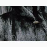 Классическая длинная шуба из черной норки