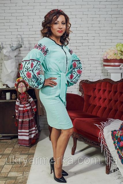 Фото 3. Стильні та сучасні вишиті плаття