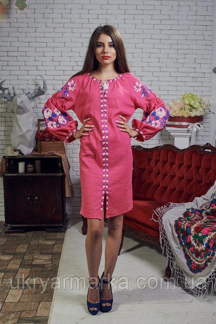 Фото 4. Стильні та сучасні вишиті плаття
