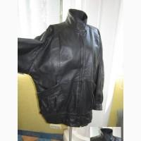 Большая женская кожаная куртка Echtes Leather. Германия. Лот 1023