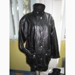 Тёплая модная женская кожаная куртка ECHTES LEDER. Лот 341